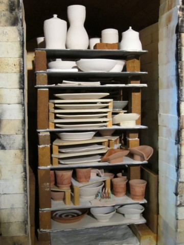 unfired kiln